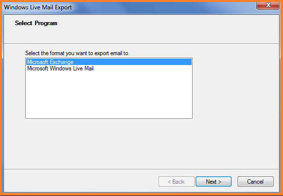 Export Windows Live Mail to Outlook PST Format