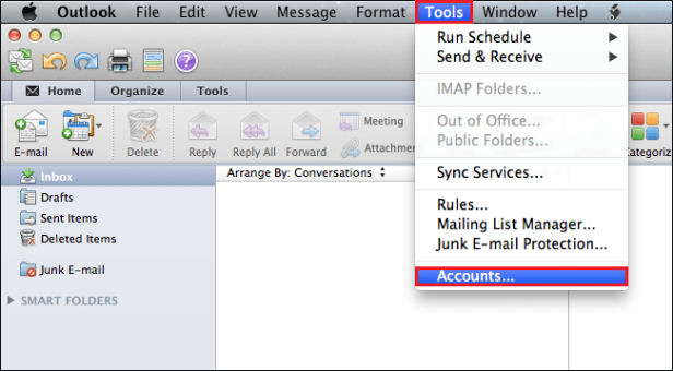 Export OLM Emails to Outlook PST