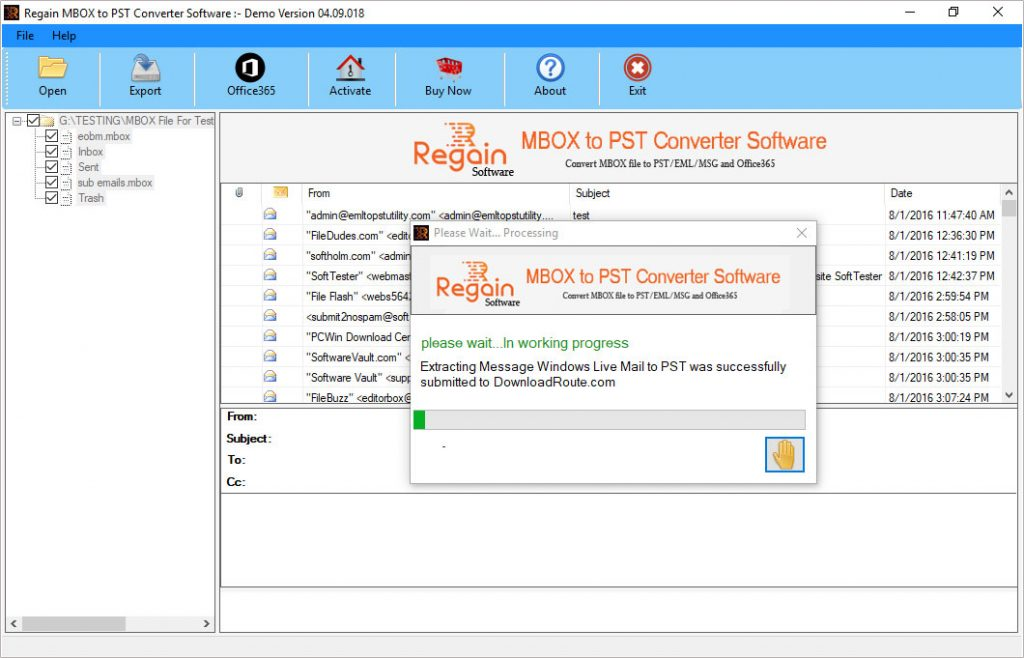 Manual Guide to Export MBOX Files to Outlook PST format