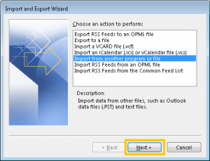 import nsf files to pst format in an easy way