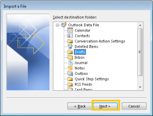 Import Lotus Notes Data to PST format