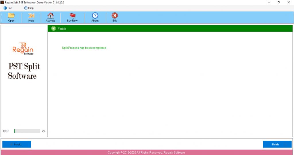 Successfully Split PST file Manually