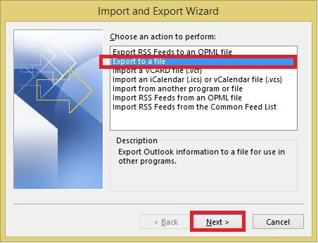 Easiest way to split pst file manually