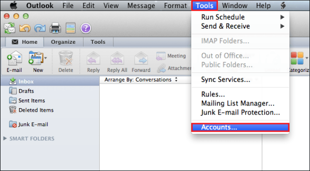 Manual Steps to Export MAC Outlook Emails to PST