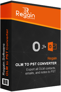 Regain OLM to PST Software