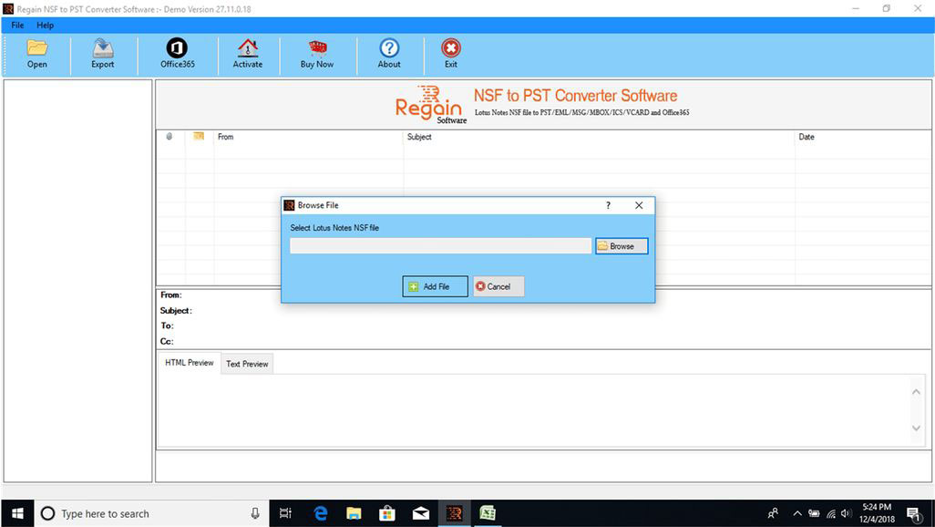 See more of Regain NSF to PST Converter