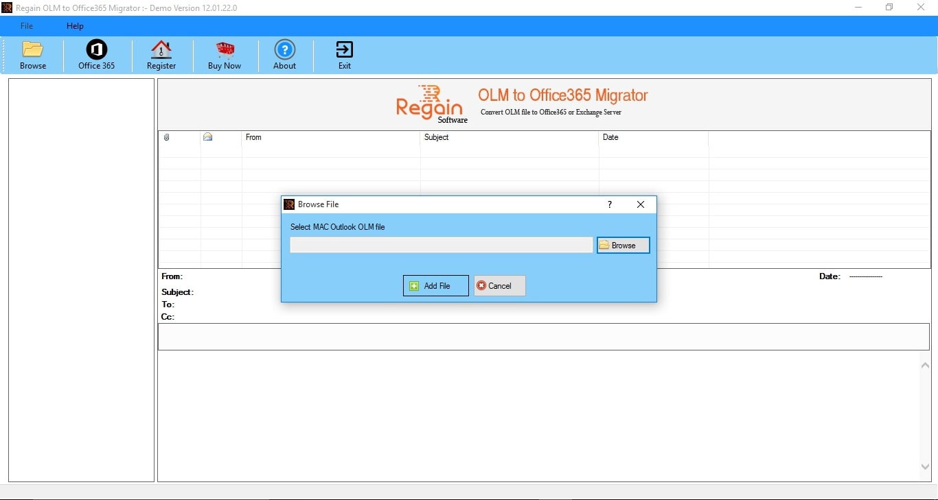 Regain OLM to Office 365 Migration