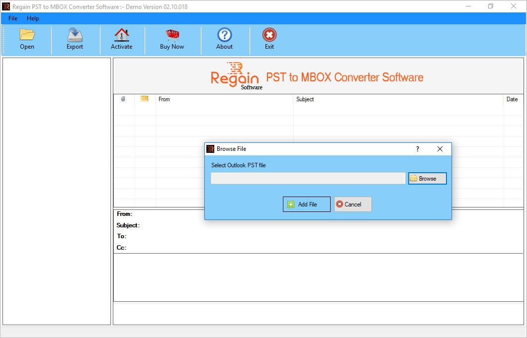 Regain PST to MBOX Converter 12.8.20.18 full
